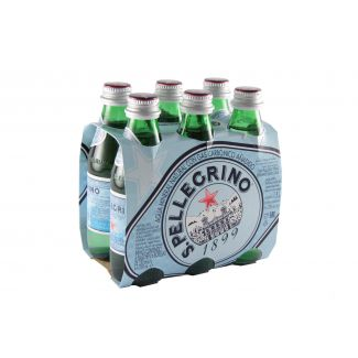 Water S.PELLEGRINO glass bottle 250ml 6pcs