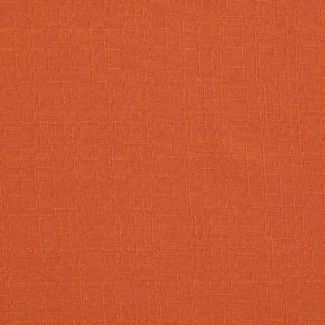 Fabric LEINEN (with striped relief) width 170cm brick