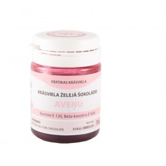Raspberry red coloring CHOCO gel 35g
