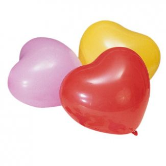 Balloon HEARTS ø2cm x70cm 10pcs.