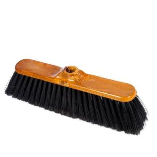 Floor brush BENTOM NARCYZ wooden imitation