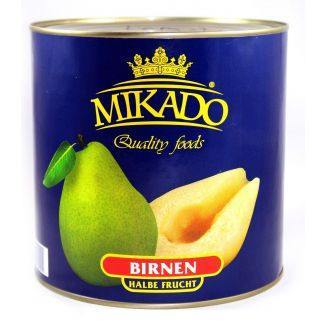 Pear halves in syrup 2650ml/1500g MIKADO