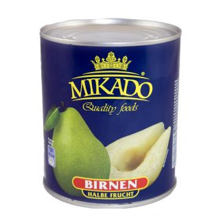 Pears halves in light syrup 850ml/460g MIKADO
