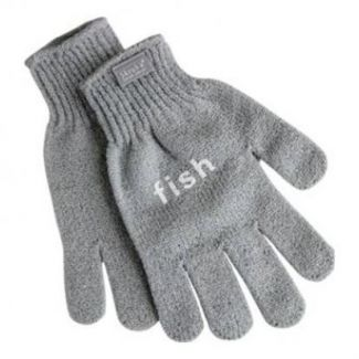 Gloves for cleaning fish