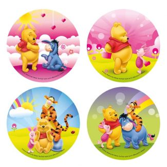 Waffle decoration Vinnie the Pooh 210mm
