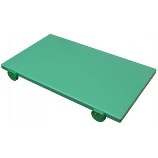 Cutting board plastic 50×30cm h-2cm green