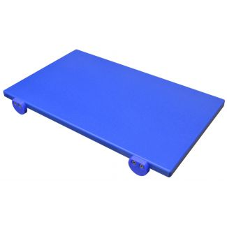 Cutting board plastic 50×30cm h-2cm blue