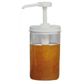 Dispenser for sauce round  ø11cm h-27cm 1.35 l