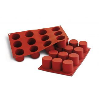 Silicone mould CYLINDERS ø48mm h-50mm 12x83ml