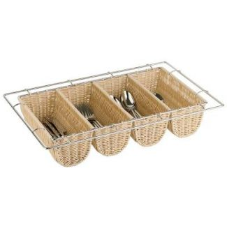 Cutlery tray GN1/1 BUFFET 4 holes h-10cm