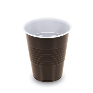 Thermo cup disposable 150ml 100pcs brown