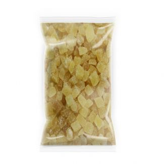 Dehydrated ginger dices with crystallized sugar 500g
