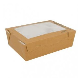 Container FEEL GREEN disposable 12x17x5.5cm 1000ml 25pcs.