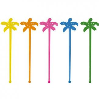 Cocktail Stirrer PALM Tree 15cm 100pcs bag
