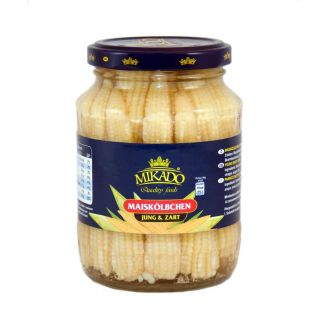 Baby corn 370ml/190g MIKADO