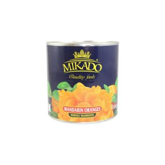 Mandarine slices in light syrup 2650ml/1500g MIKADO
