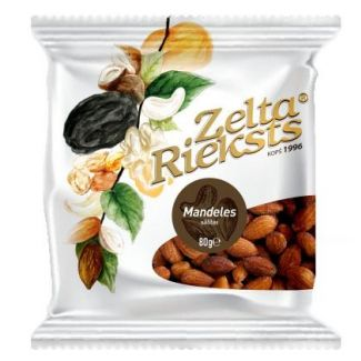 Almonds roasted salted 80g