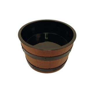 Barrel with tray 4.5 l Brown/black