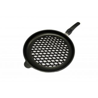 Pan grill bottom BBQ ø32cm h-4cm