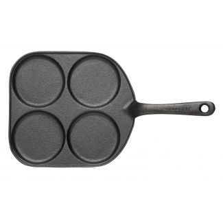 Pan for egg roasting with iron handle ø20cm