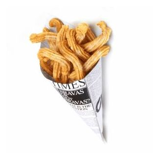 Paper cones TIMES for snacks 250g 250pcs