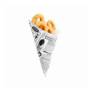 Paper cones TIMES for snacks 70g 250pcs
