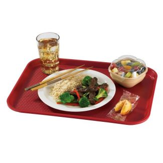 Tray FAST FOOD 30x41cm cranberry