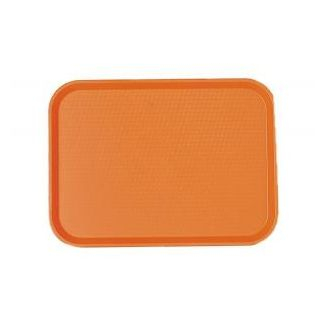 Tray FAST FOOD 30x41cm orange