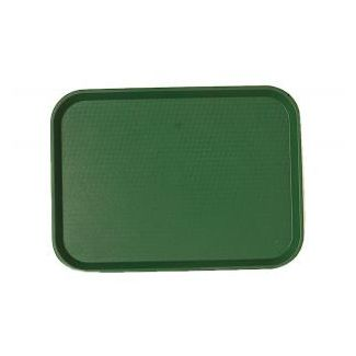 Tray FAST FOOD 30x41cm green
