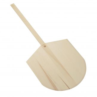 Pizza peel with wooden handle 46x50cm L-107cm
