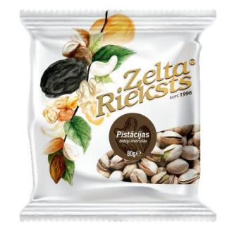 Pistachios roasted salted natural open 80g