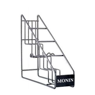 Metal rack for 4 bottles MONIN