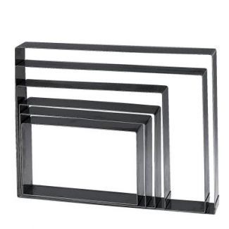Rectangle for baking sheets 24x14 h-4cm