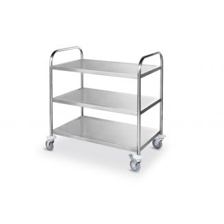 Trolley with 3 trays 900x590x930mm