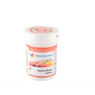 Ccoloring jelly sunny red 35g