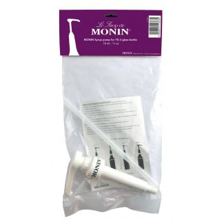 MONIN syrup bottles pump 10ml 700ml