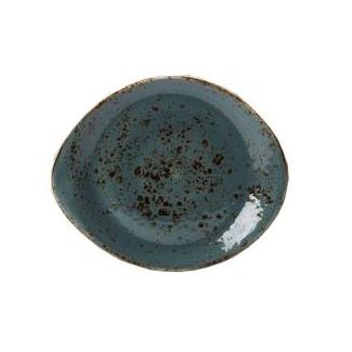 Plate Coupe ø 25.25cm CRAFT BLUE