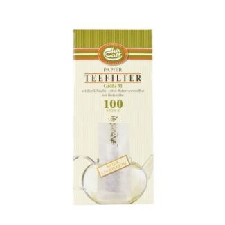 Tea filter 100pcs size M