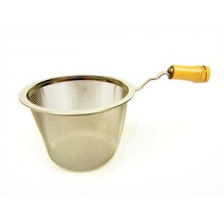Tea strainer with bamboo handle ø 6.4cm