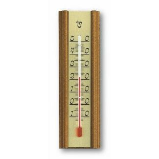 Thermometer indoor 140x40mm 45g oak
