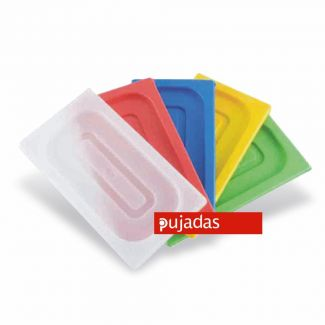 Lid GN 1/2 PP (-20°C...+100°C) red