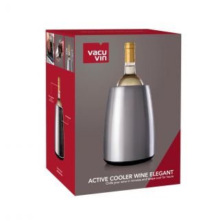 Wine Bottle Cooler Elegant with cooling elements