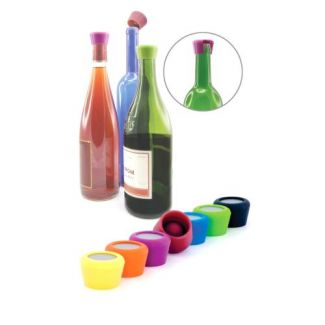 Silicone wine stoppers 2pcs