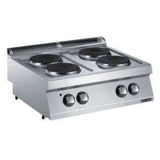 Electric stove with 4 hotplates without base