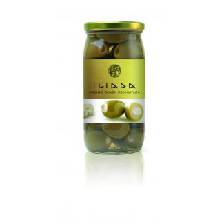 Olives green stuffed with garlic 370g/215g