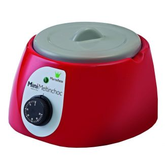 Chocolate melter electric MINI 1.8L red