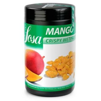 Freeze dried mango crispy wet proof 400g