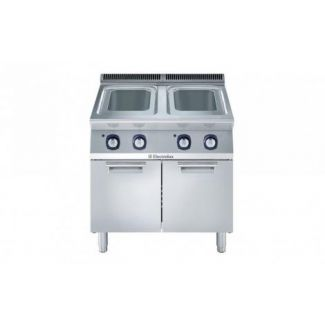 Pasta cooker gas 800mm 2x24.5l