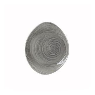 Plate SCAPE GREY 25cm
