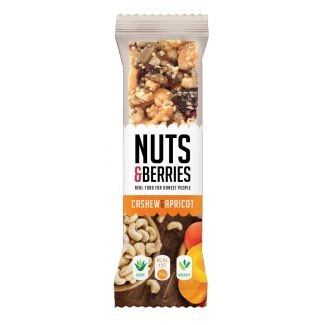 Bar with cashews and apricots BIO 30g